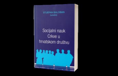 Socijalni-nauk-Crkve-u-hrvatskom-društvu- knjiga book
