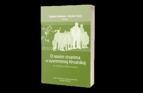 knjiga book o-novim-stvarima-u-suvremenoj-Hrvatskoj
